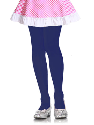 Load image into Gallery viewer, MOPAS GIRL'S PLAIN TIGHTS (GT100_NAVY)