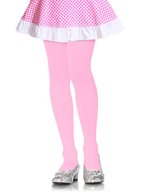 Load image into Gallery viewer, MOPAS GIRL'S PLAIN TIGHTS (GT100_PINK)