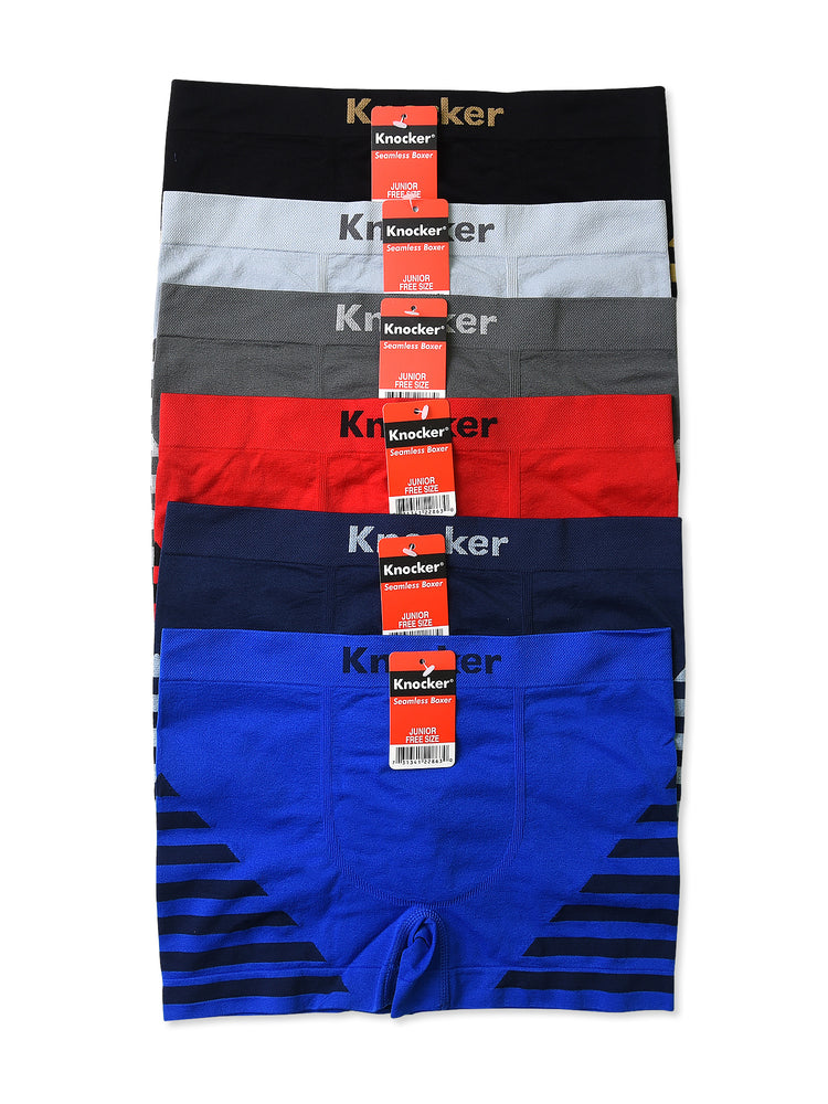 Load image into Gallery viewer, KNOCKER JUNIOR SEAMLESS BOXER BRIEFS (JPS004)