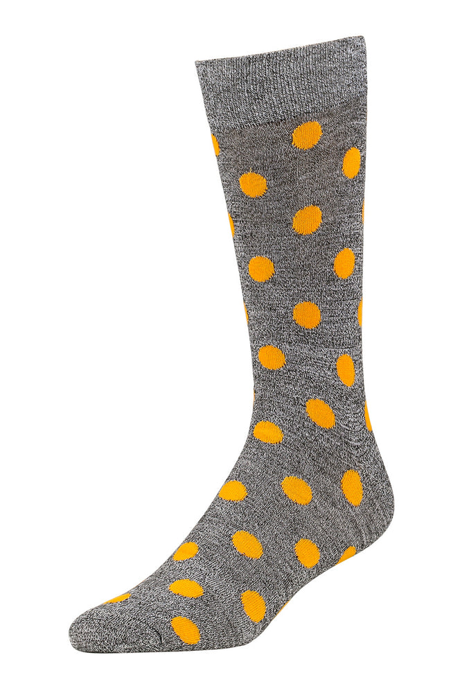 LIBERO MEN'S CASUAL CREW SOCKS (LBC100_3-DOT)