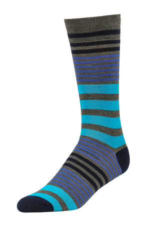 Load image into Gallery viewer, LIBERO MEN'S CASUAL CREW SOCKS (LBC100_AST ST)