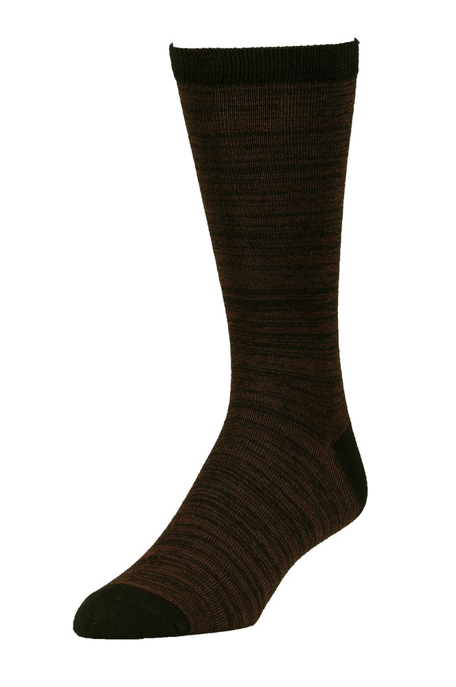 Load image into Gallery viewer, LIBERO MEN'S CASUAL CREW SOCKS (LBC100_BK/BR)