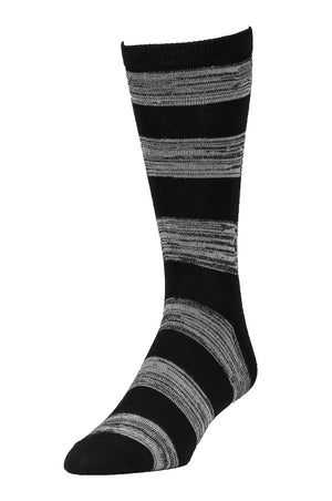 Load image into Gallery viewer, LIBERO MEN'S CASUAL CREW SOCKS (LBC100_BK/LG-ST)
