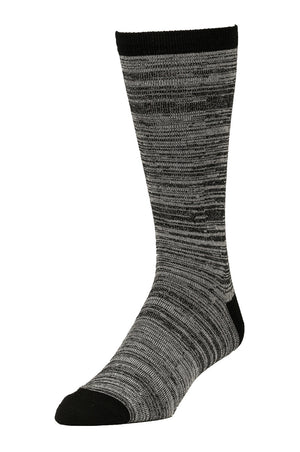 Load image into Gallery viewer, LIBERO MEN'S CASUAL CREW SOCKS (LBC100_BK/LG)