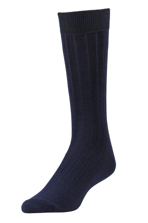 Load image into Gallery viewer, LIBERO MEN'S DRESS CREW SOCKS (LBC200_2-BLACK)