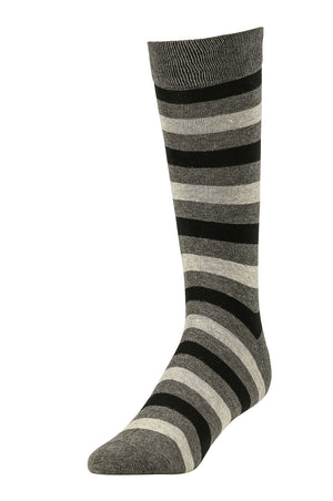 LIBERO MEN'S DRESS CREW SOCKS (LBC200_3-CBG)