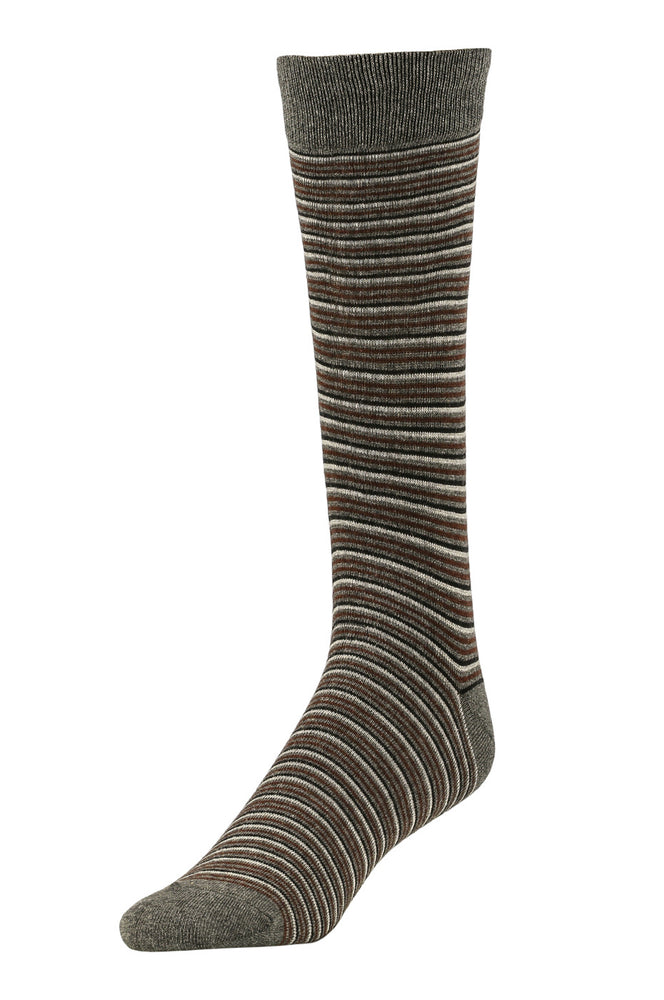 LIBERO MEN'S DRESS CREW SOCKS (LBC200_9-CHAR)