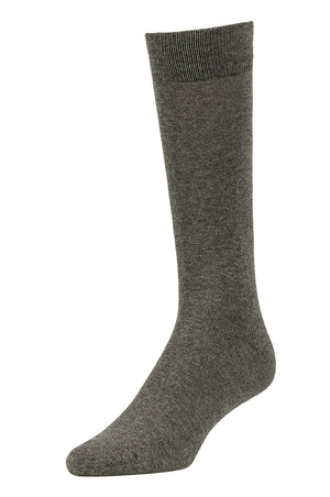 Load image into Gallery viewer, LIBERO MEN'S DRESS CREW SOCKS (LBC200_CHAR)