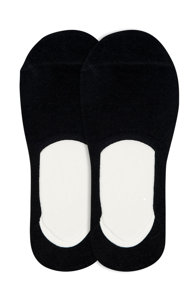 Load image into Gallery viewer, LIBERO MEN'S LINER SOCKS (LBL200_BLACK)