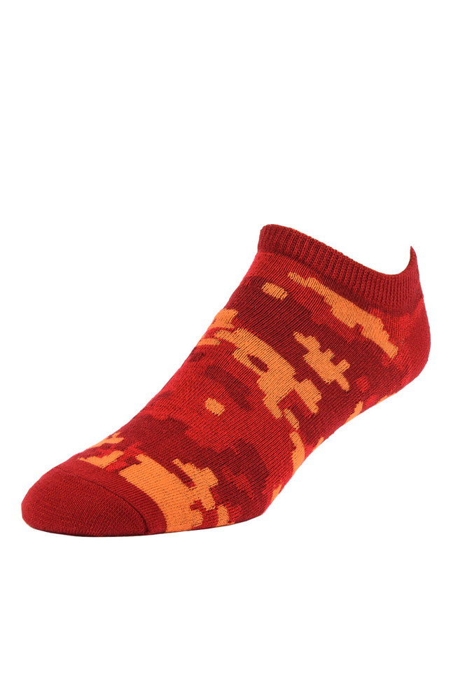 Load image into Gallery viewer, LIBERO MEN'S NO SHOW SOCKS (LBN100_DCAMO2)