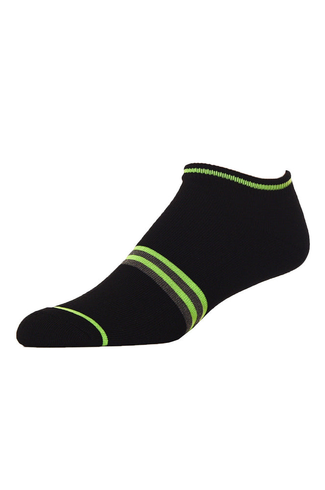 LIBERO MEN'S NO SHOW SOCKS (LBN100_E-BLK)