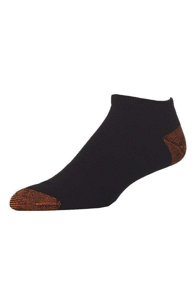 Load image into Gallery viewer, LIBERO MEN'S NO SHOW SOCKS (LBN100_K-BLK)