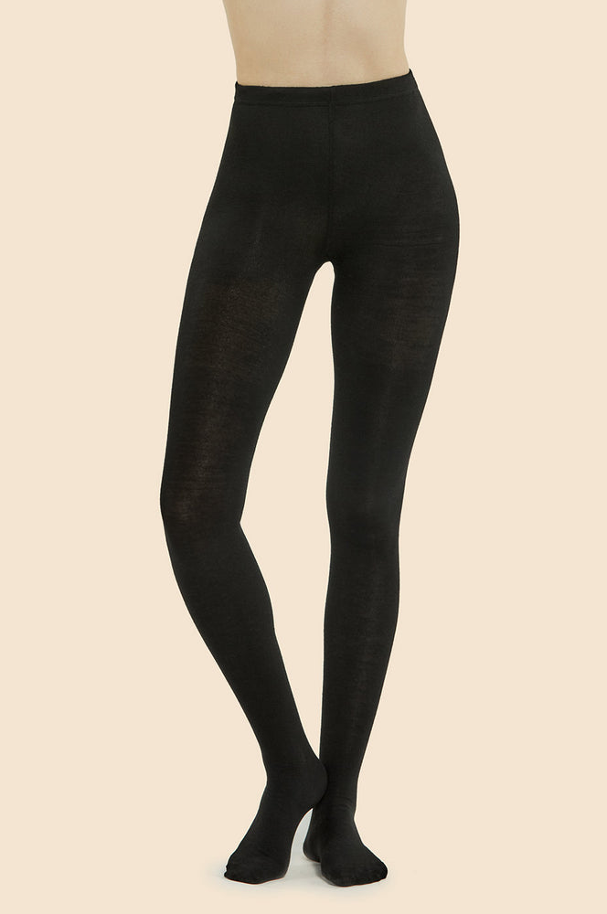 Load image into Gallery viewer, MOPAS LADIES WINTER TIGHTS (LT100_BLACK)