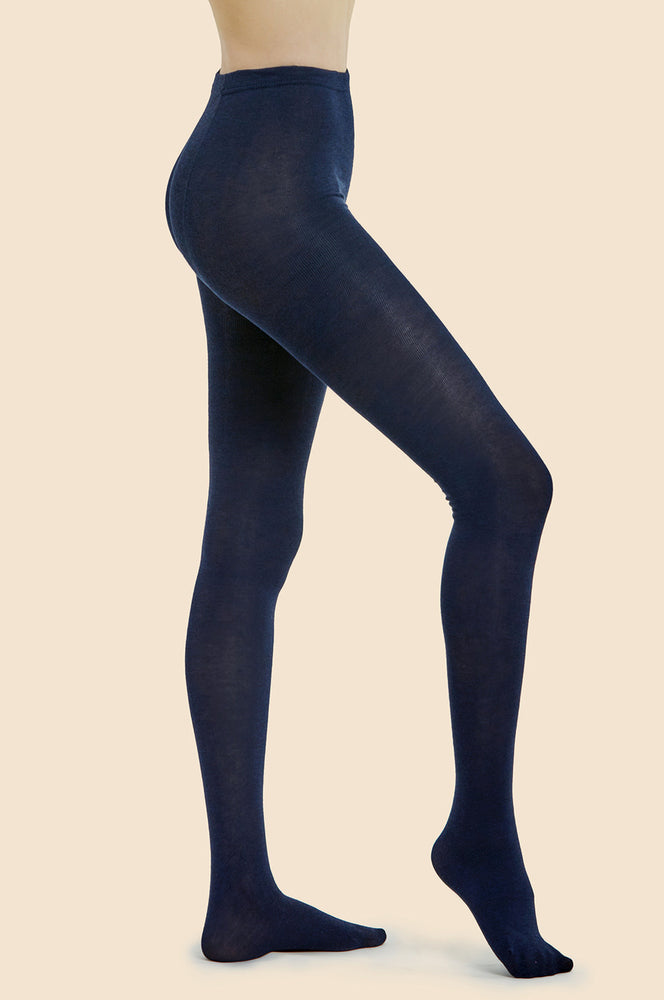 Load image into Gallery viewer, MOPAS LADIES WINTER TIGHTS (LT100_NAVY)