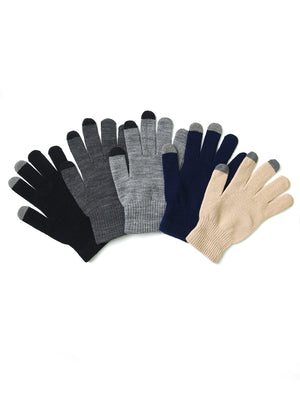 KNOCKER MEN'S TOUCH SCREEN MAGIC GLOVES (MG300_ASST)