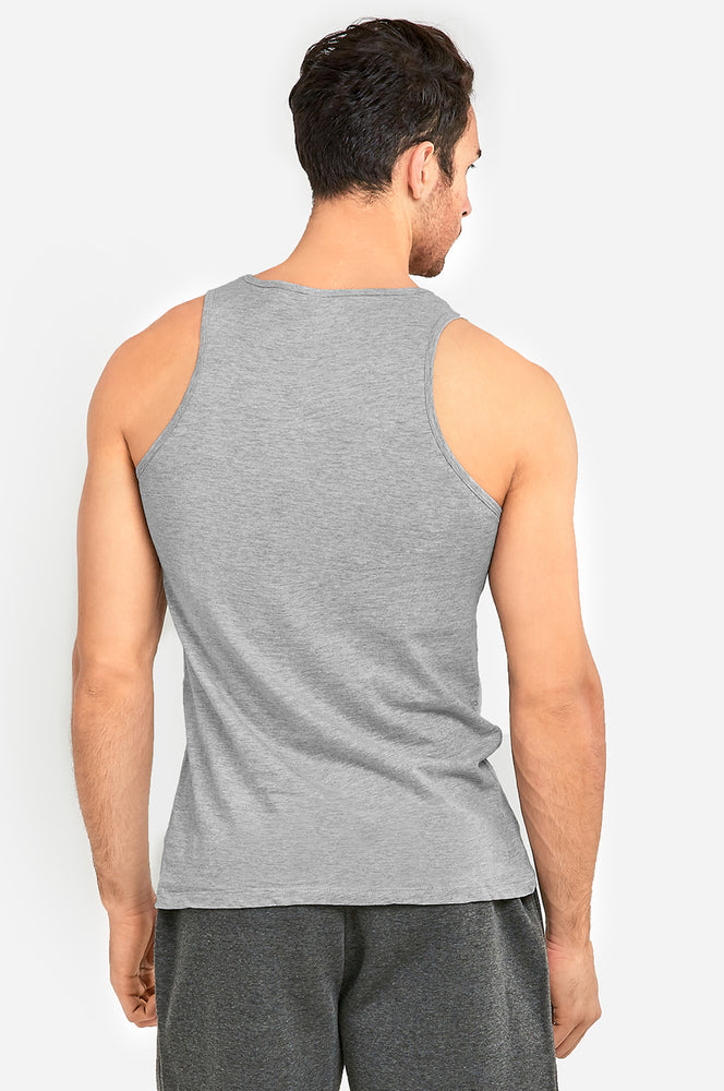 Load image into Gallery viewer, KNOCKER MEN'S TANK TOP (MT100_H.GRY)