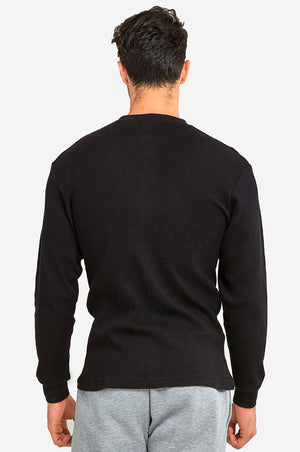 KNOCKER MEN'S MEDIUM WEIGHT THERMAL (MTU1000_BLACK)