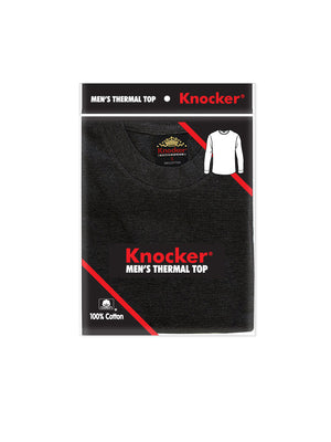 KNOCKER MEN'S MEDIUM WEIGHT THERMAL (MTU1000_WHITE)