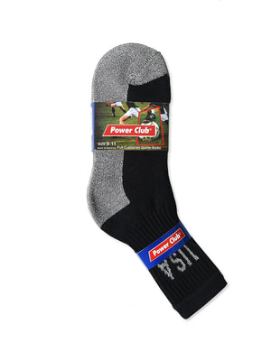 Load image into Gallery viewer, POWER CLUB CREW SPORTS SOCKS (PC274_G/BUSA-2)