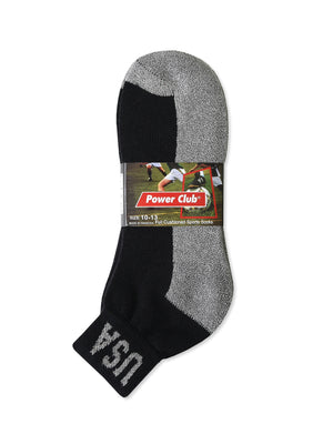 POWER CLUB QUARTER SPORTS SOCKS (PC284_G/BUSA-2)