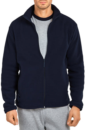 KNOCKER MEN'S POLAR FLEECE JACKET (PF2000_NAVY)