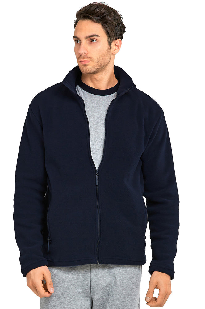 Load image into Gallery viewer, KNOCKER MEN'S POLAR FLEECE JACKET (PF2000_NAVY)