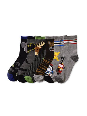 PODE BOY'S DESIGN CREW SOCKS (PLAY)