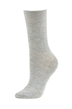 Load image into Gallery viewer, SOFRA WOMEN'S CREW SOCKS (SFC100_LHGRIB)