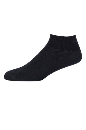 SPAK QUARTER SPORTS SOCKS (SPK284_B-P)