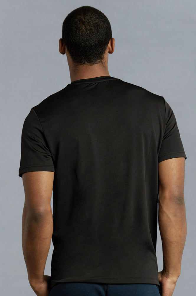 Load image into Gallery viewer, TOP PRO MEN'S ATHLETIC ROUNDNECK T-SHIRT (TAT310_BLACK)