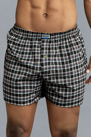Load image into Gallery viewer, KNOCKER MEN'S COTTON BOXER SHORTS (TB4500)