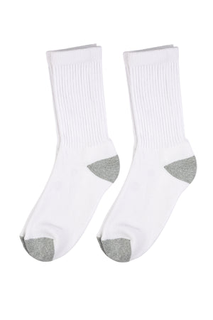 Load image into Gallery viewer, TOP PRO MEN'S SPORTS CREW SOCKS (47523_GREYT)