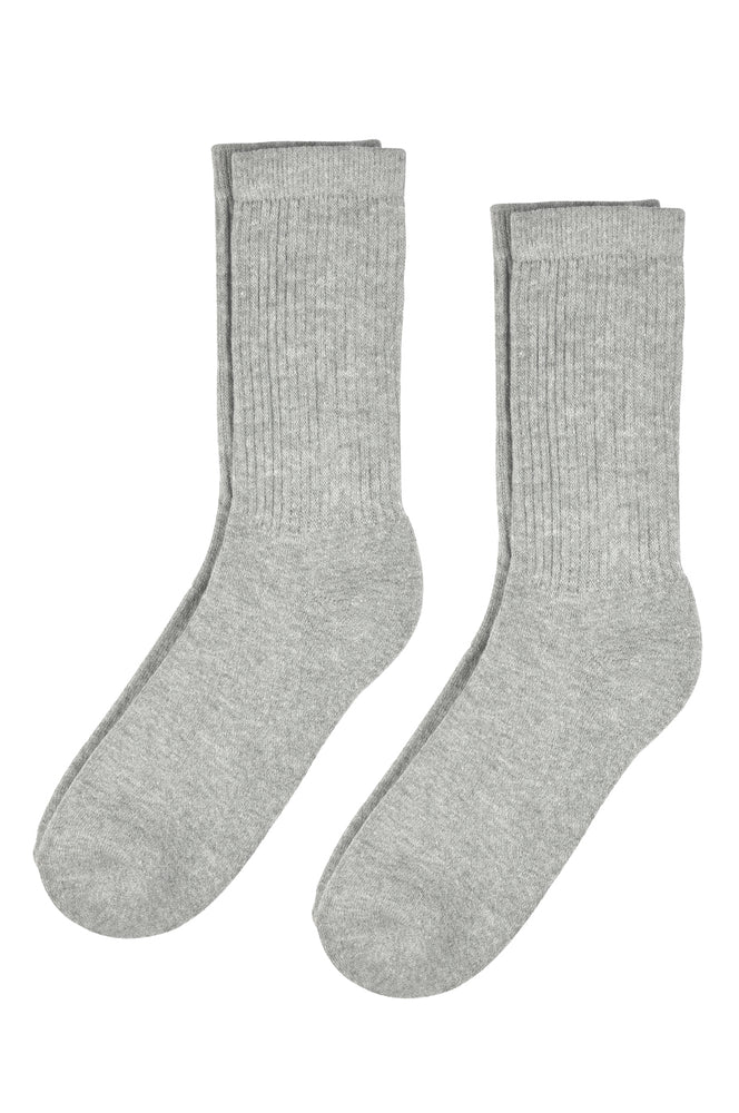 TOP PRO PREMIUM SPORTS CREW SOCKS (BK175_G-PT)