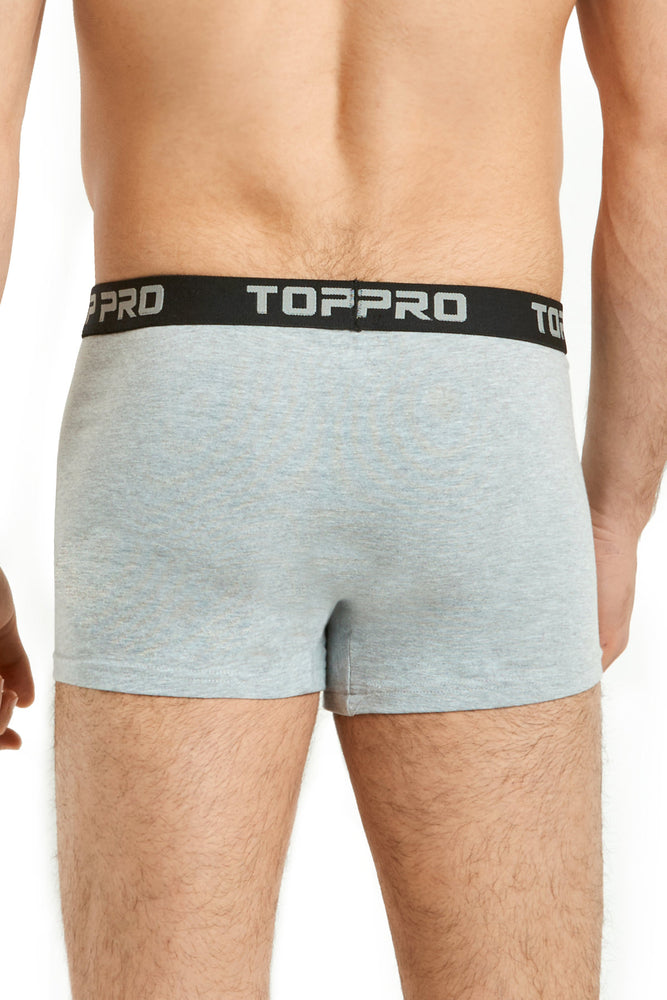 Load image into Gallery viewer, TOP PRO MEN'S STRETCH BOXER TRUNKS (TPUB200_GR/H)