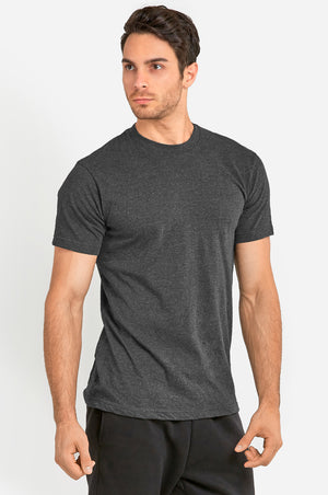 Load image into Gallery viewer, KNOCKER MEN'S HEAVY CREW NECK T-SHIRT (TR800_CH/GR)