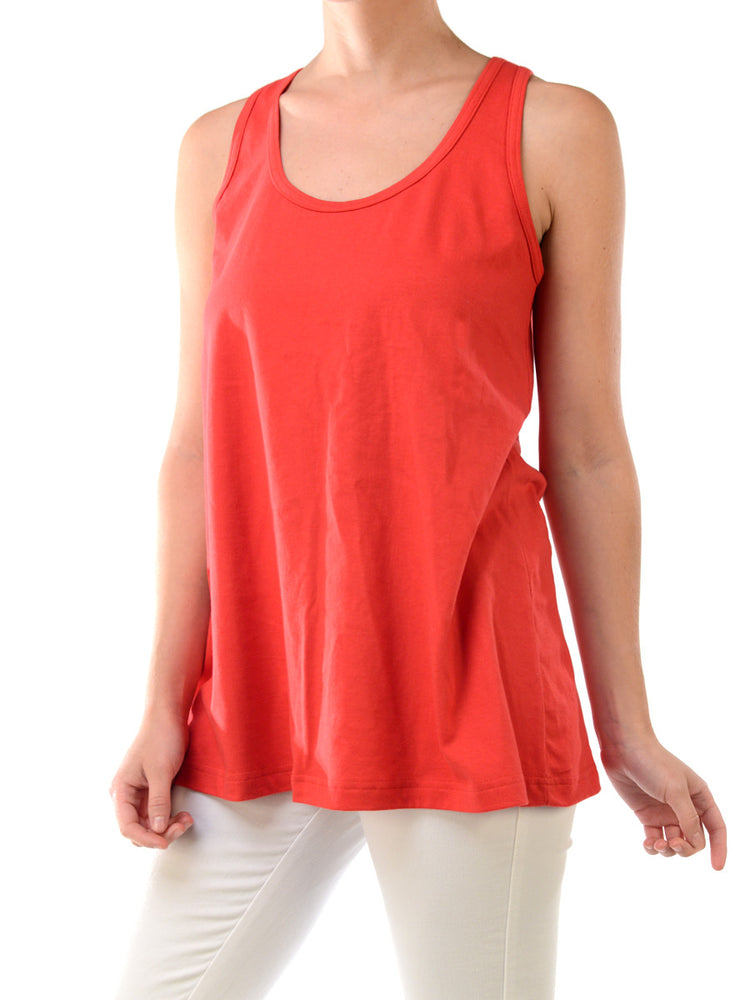 SOFRA LADIES LOOSE FIT JERSEY TANK TOP (TT302)