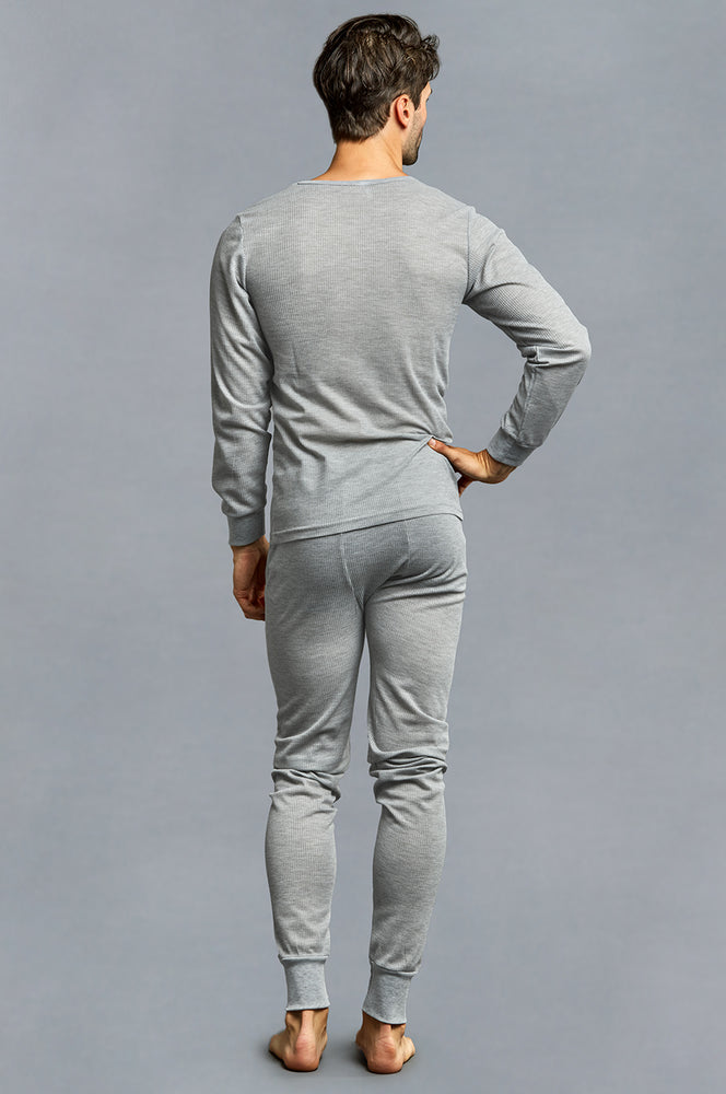 Load image into Gallery viewer, KNOCKER MEN'S THERMAL UNDERWEAR (TU001_H.GRY)