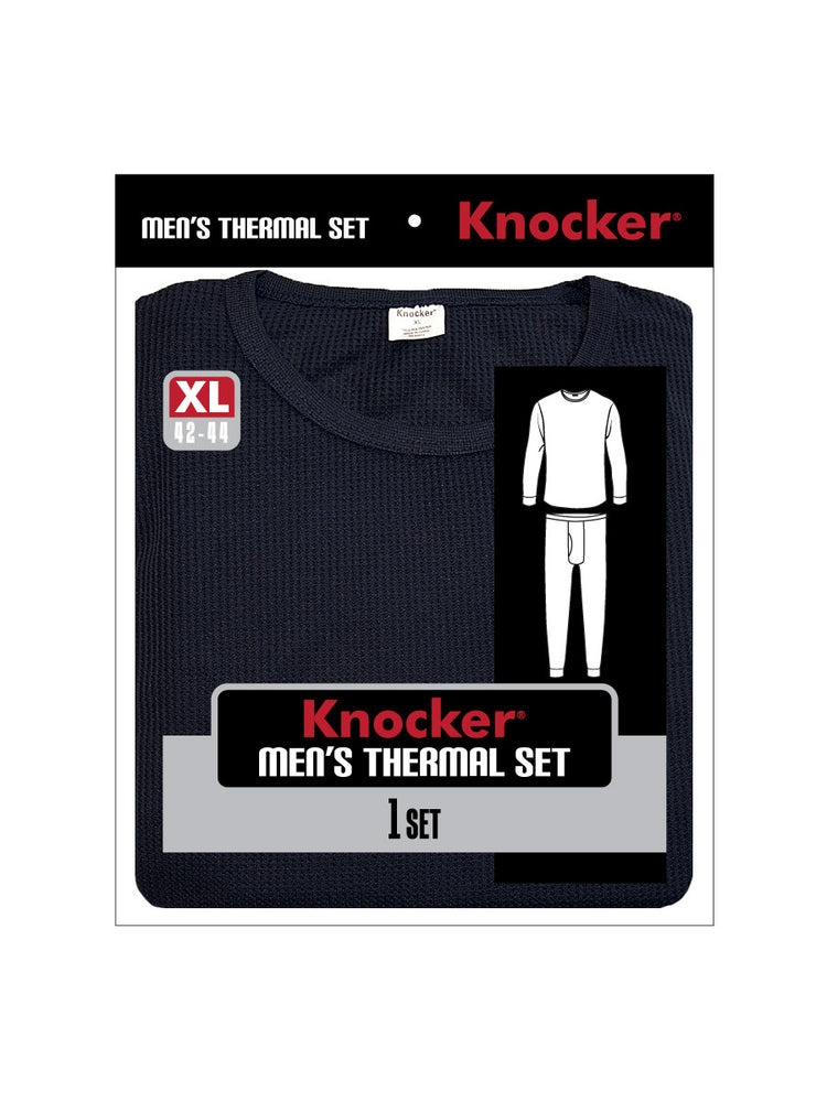 KNOCKER MEN'S THERMAL UNDERWEAR (TU001_NAVY)