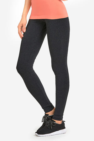 Load image into Gallery viewer, SOFRA LADIES COTTON LEGGINGS (WP4000_CHC/GR)