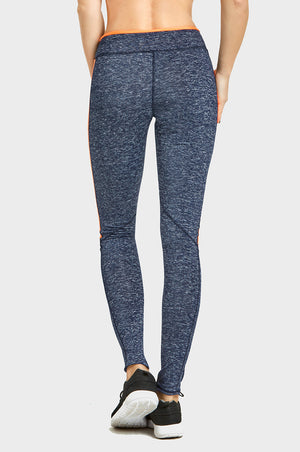 Load image into Gallery viewer, SOFRA LADIES TWO-TONE ATHLETIC LEGGINGS (AL2000)