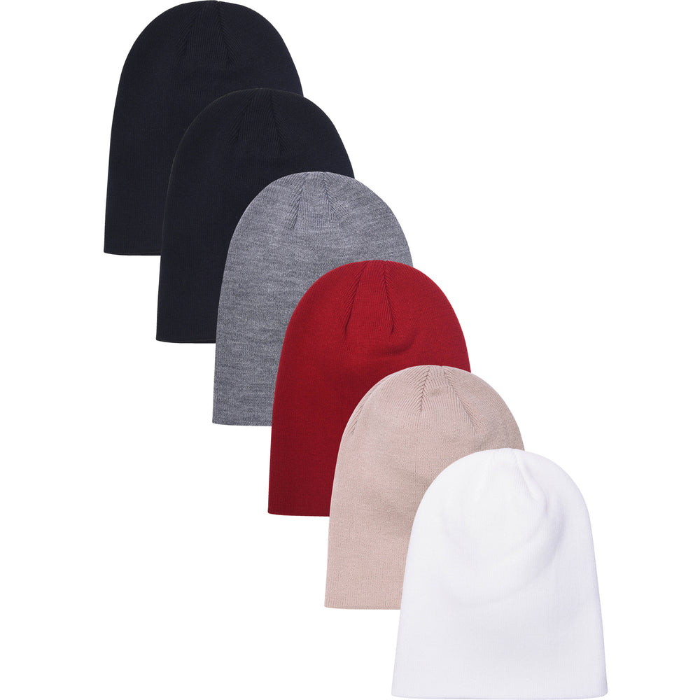 Load image into Gallery viewer, MOPAS LADIES ACRYLIC BEANIE (BN002_L-ASST)