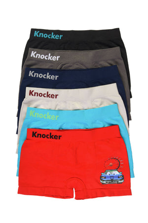 Load image into Gallery viewer, KNOCKER BOY'S SEAMLESS BOXER BRIEFS (BPS024)