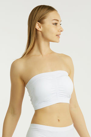 MAMIA LADIES SEAMLESS TUBE TOP BRA (BR0123ST5)