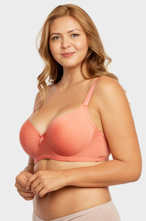 SOFRA LADIES FULL CUP PLAIN D CUP  BRA (BR4129PD3) - BOX ONLY