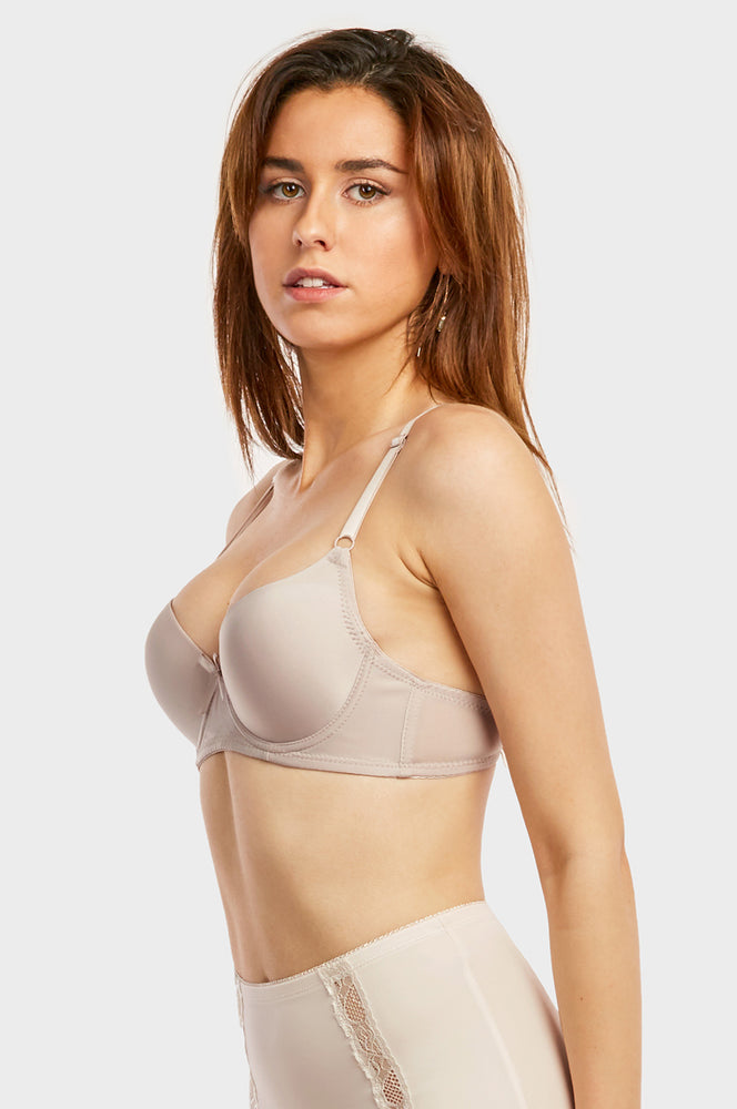 MAMIA LADIES FULL CUP PLAIN BRA (BR4180P8) - BOX ONLY