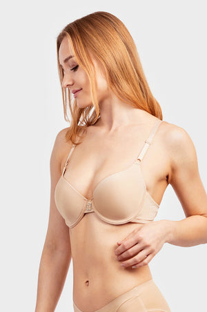 Load image into Gallery viewer, MAMIA LADIES FULL CUP PLAIN BRA (BR4184P1)