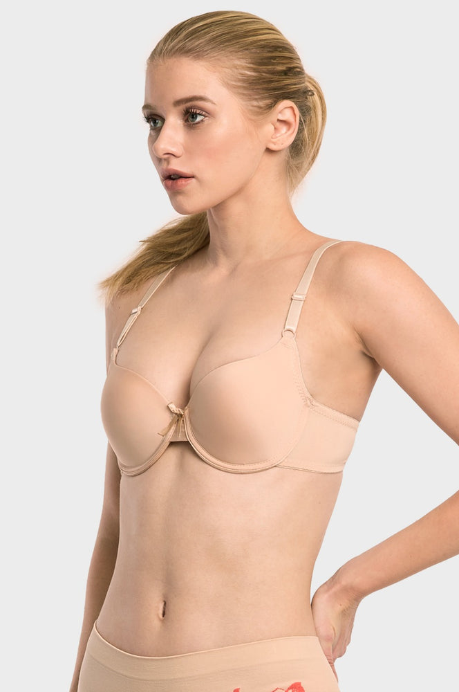 Load image into Gallery viewer, SOFRA LADIES FULL CUP PLAIN BRA (BR4190P2)