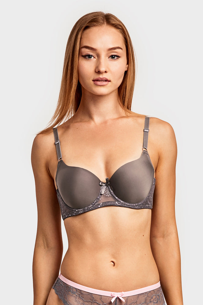 Load image into Gallery viewer, SOFRA LADIES FULL CUP PLAIN BRA (BR4226P1)