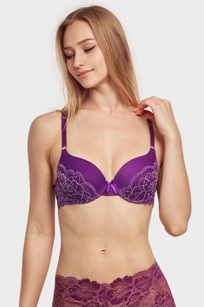 Load image into Gallery viewer, MAMIA LADIES FULL CUP PLAIN LACE BRA (BR4244PL2) - BOX ONLY