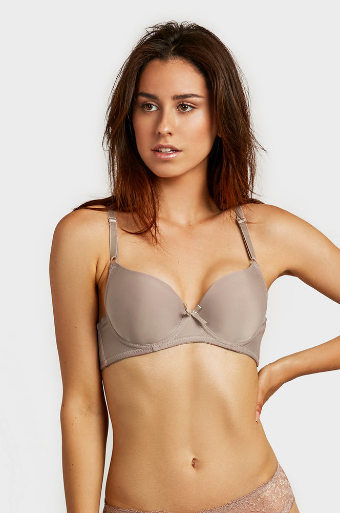 Load image into Gallery viewer, ET TU LADIES FULL CUP PLAIN BRA (BR4250P4)